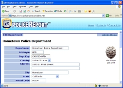 ePoliceReport - Online Police Reporting System for Citizens
